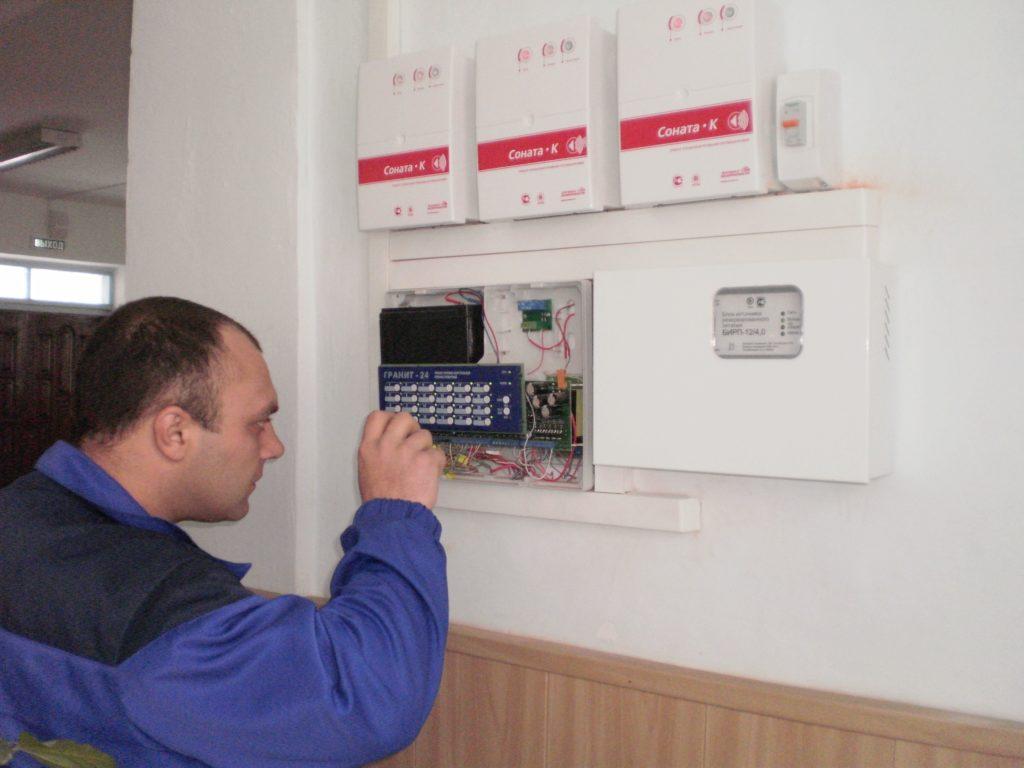 Акт технического состояния пожарной сигнализации образец
