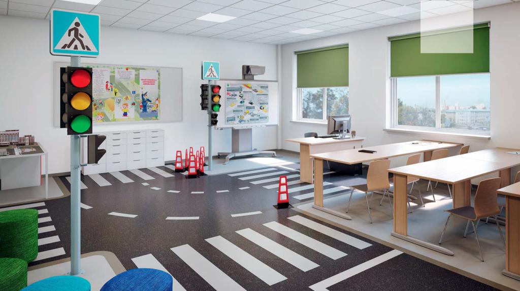 Линолеум для детского сада - требования нормативных документов дизайнерские решения